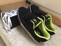 skate shoes-Fallon death-wish