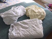 Bundle of cot bed bedding