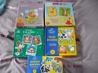 Selection of Children's Jigsaws in excellent condition for children aged 12mths to 3 years