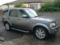 Land Rover Discovery 4 3.0 TDV6 HSE 2010 model (59 plate)