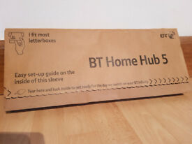 BT Smart Hub 5 WiFi Cable & Fibre Router