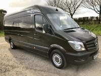 MERCEDES-BENZ SPRINTER 2.1 313 CDI LWB 1d 129 BHP ONE OWNER, FULL MERC HISTORY (brown) 2014