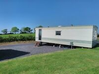 For Sale: 2 Bed, 26ft x 10ft, Willerby Jupiter Static Caravan, on beautiful, rural site.