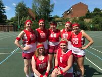 Ladies Intermediate Netball Team