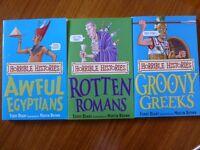 Unread Horrible Histories books