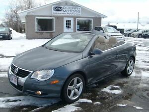 2007 Volkswagen Eos 2.0T Hardtop Convertible Auto Leather