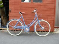 Pashley Poppy Ladies Town Bike-Blue