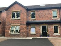TO RENT No. 9 Woodland Grove Ballymena First Floor 2 Bed 2 Bathroom Apartment. Fully furnished.