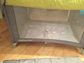 ***Mother care Travel Cot***