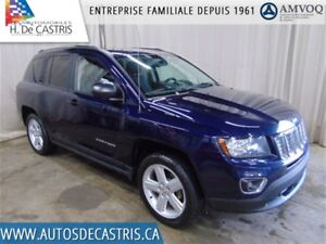 2014 Jeep Compass HIGH ALTITUDE*CUIR, TOIT OUVRANT