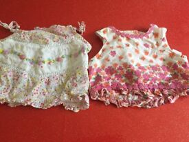 Baby girl 6-12months Monsoon tops