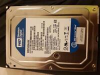 Western digital harddrive 250gb