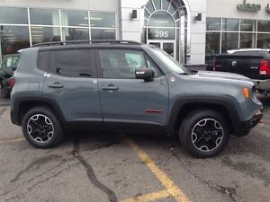 2016 Jeep Renegade Trailhawk 4X4 *-* CUIR *-* HITCH *-* GPS *-*