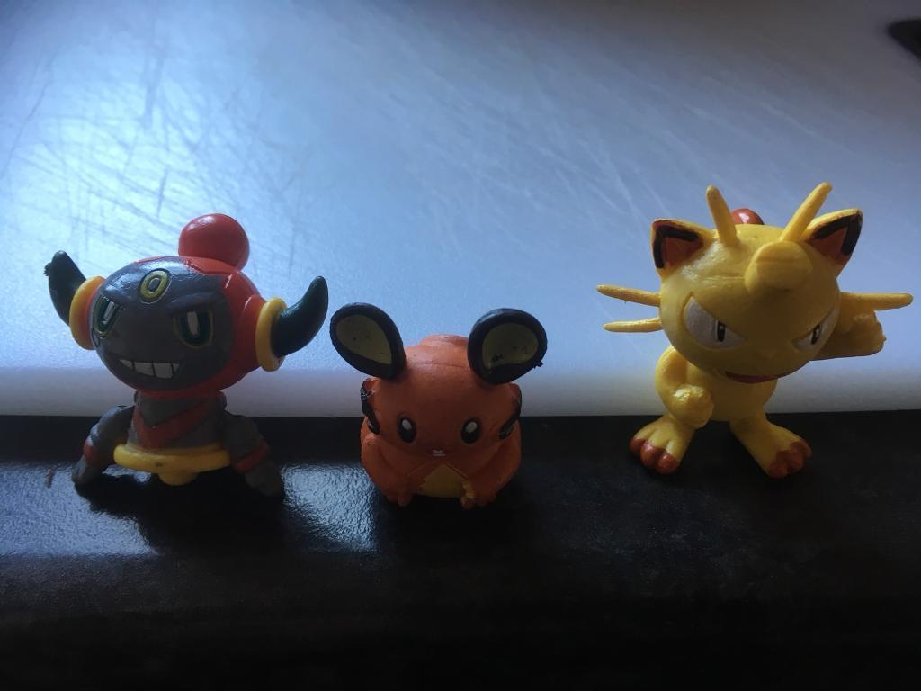 Replica Pokémon figures