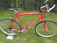 Raleigh USA Cromo Max Steel Retro Mountain Bike Shimano STX RC Located in Bridgend Area