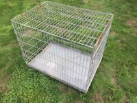 Bargain Large Dog Cage V.G.C. Free Delivery In Norwich,