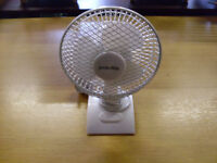 "small 6"" desk fan"