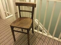 Vintage Early Wooden Chair