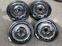 "15"" GENUINE MINI 14-19 STEEL WHEELS 5x112 F55 F56 F57 FULL SIZE SPARES NOT ALLOYS TYRES"