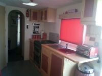 Beautiful 8 Berth 3 bedroom static caravan to rent on Happy Days Towyn North Wales