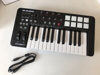 Oxygen 25 MK IV USB MIDI Performance Keyboard Controller - M-Audio