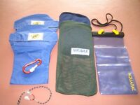 Acqua pack & other kayaking accessories