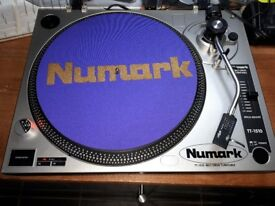 x2 Numark TT1510 direct-drive Turntables (amazing condition)-full working order.