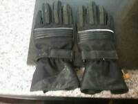 Small to medium motorcycle gloves