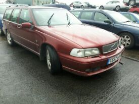 1999 VOLVO V70 R AWD NOW BREAKING FOR PARTS