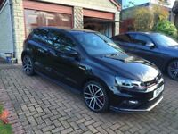 Volkswagen Polo 1.8 TSI GTI (192ps). Black. 3 dr. 2015 (65 plate). Great condition and low mileage.