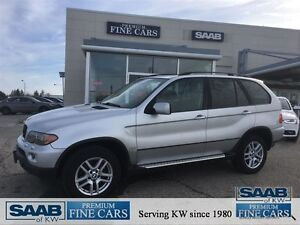 2004 BMW X5 3.0i AWD Leather Moonroof Alloys-NoAccidents