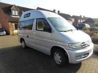 CAMPER VAN fIXED HIGH ROOF FORD FREDA. QUITE RARE IN THIS CONDITION.
