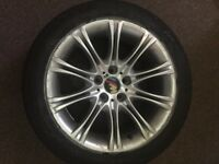 BMW M Sport Alloys 5 series 18 inch set of two