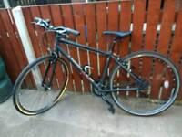 Raleigh Strada 3 mens hybrid bike