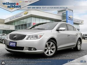 2013 Buick LaCrosse Ultra Luxury Group 1 OWNER, ACCIDENT FREE