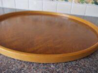 Vintage Trebun wooden tray good condition