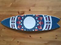 Hand Painted Mini Surfboard