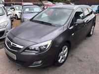 2011/11 VAUXHALL ASTRA 2.0 CDTI 16V SRI ESTATE 5DR GREY,LOW MILEAGE,GREAT SPEC,LOOKS & DRIVES WELL