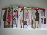 6 NEW LOOK MULTISIZE SEWING PATTERNS (Size 8-18)