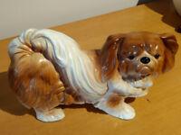 Vintage Melba Ware Pekinese figurine c1950