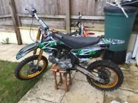 M2r Kmx 140cc big wheel