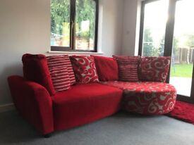 DFS 3 piece sofa suite