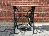 Victorian Singer Sewing Machine Table