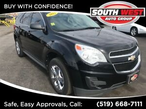 2012 Chevrolet Equinox LS AWD, LOW KMS, HANDS FREE PHONE