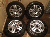"GOLF 15"" ALLOY WHEELS"