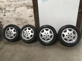 Porsche 911 wheels & adapter plates