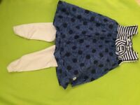 GIRLS 12 month ABSORBA 2 piece summer outfit