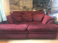 Large 2 Seat Sofa. FREE TO COLLECTOR