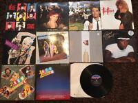 Vinyl Albums LPs 80s Job Lot Collection