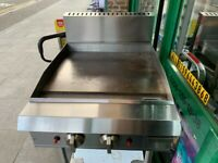 GAS THERMOSTATIC FLAT GRILL CATERING COMMERCIAL KITCHEN FAST FOOD KITCHEN BBQ CAFE